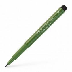 LEC PITT ARTIST PEN FABER CASTELL 174 CHROMIUM GREEN OPAQUE FC167476