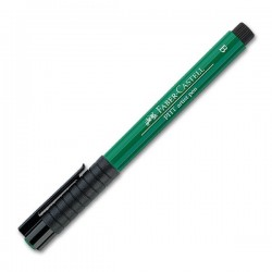 LEC PITT ARTIST PEN FABER CASTELL 264 DARK PHTHALO GREEN B FC167478