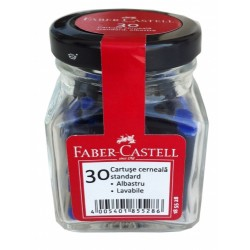 LEC PATROANE CERNEALA FABER-CASTELL 30/SET ALBASTRU FC185528