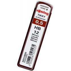 LEC MINA CREION ROTRING 0.5MM HB RO312650