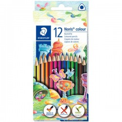 GEN CREIOANE COLOR STAEDTLER NORIS 12/SET 187C12