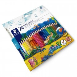 GEN CREIOANE COLOR STAEDTLER AQUARELL 24/SET 14410NC24