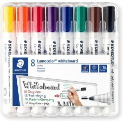 GEN MARKER STAEDTLER WHITEBOARD 8/SET 351WP8