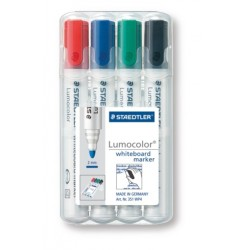 GEN MARKER STAEDTLER WHITEBOARD 351WP4 4/SET