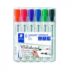 GEN MARKER STAEDTLER WHITEBOARD 351WP6 6/SET