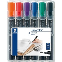 GRI MARKER STAEDTLER 6/SET VARF ROTUND, 2MM, 352WP6