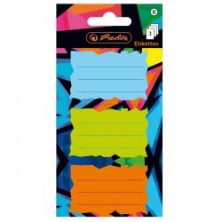 He Etichete Scolare Herlitz Neon Art 3/set 50028207
