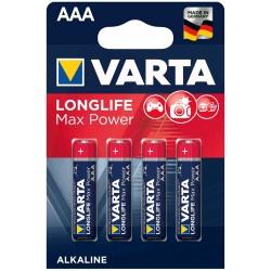 STA BATERII VARTA MAX TECH AAA 4703/4