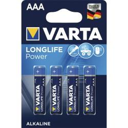 STA BATERII VARTA AAA R3 ALCALINE LING LIFE HIGHT ENERGY 4903/4