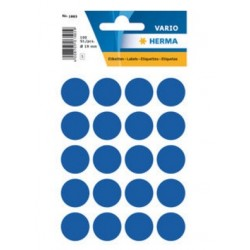 TOR STICK DECOR HERMA 1883 BULINE ALBASTRE 19 MM 100/SET