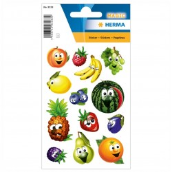 TOR STICKERS DECOR Stickers fruits, moving eyes HERMA 3233