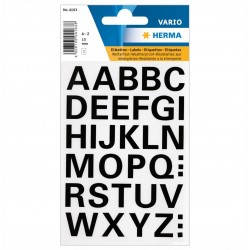 TOR STICKER LITERE A-Z 15 MM 4163