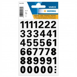 TOR STICKER CIFRE 0-9 15 MM 4164
