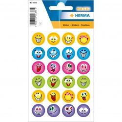 Tor Sticker Faces Glitter 6818
