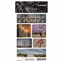 TOR STICK DECOR Sympathy Labels Candles HERMA 15119