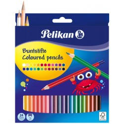HE CREIOANE COLOR PELIKAN 24/SET 724013