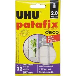 UHU PASTILE AUTOADEZIVE PATAFIX HOMEDECO 40660/771016