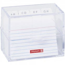 BR SUPORT PLASTIC INDEX CARD A8 20580