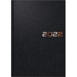 Br Agenda Datata Zilnic Brunnen A5 2022 Hard Cover Negru 79561902