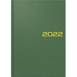 Br Agenda Datata Zilnic Brunnen A5 2022 Hard Cover Verde Petrol 79561042