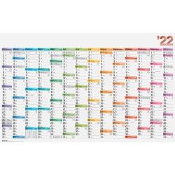 Br Calendar Perete 2022 14 Luni 106*67cm 70117002