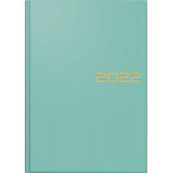 Br Agenda Datata Zilnic Brunnen A5 2022 Hard Cover Turquoise 79561022