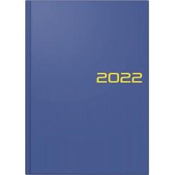 Br Agenda Datata Zilnic Brunnen A5 2022 Hard Cover Albastru 79561032