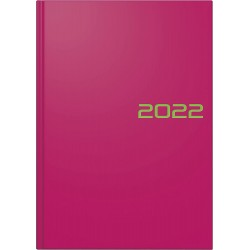 Br Agenda Datata Zilnic Brunnen A5 2022 Hard Cover Roz 79561642