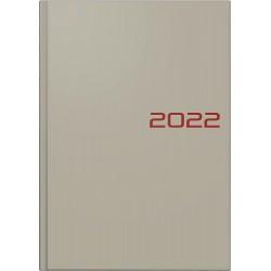 Br Agenda Datata Zilnic Brunnen A5 2022 Hard Cover Gri 79561802