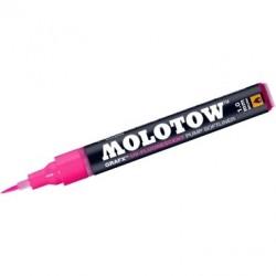 Softliner cu pompita Molotow UV-Fluorescent 1mm ROZ MLW593