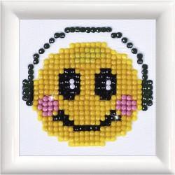 CC DIAMOND DOTZ 7.6*7.6CM SMILING GROOVE 74902