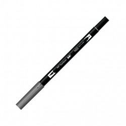 CON MARKER TIP ACUARELA 2 CAPETE TOMBOW  cool grey7 ABT-N55