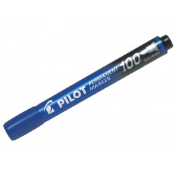 DAC MARKER PERMANENT PILOT VARF ROTUND ALBASTRU PSCA-100-L