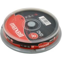 TEC DVD MAXELL 10/SET 275593.40.TW
