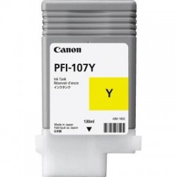 CARTUS CANON PFI-107 YELLOW 130 ml