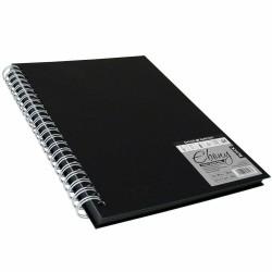 FIL BLOC SCHITE A4 180 GR/M2, 40 FOI SPIRA EBONY BLACK ROWNEY GRADUATE 813600400