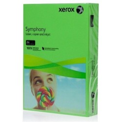 CARTON COPIATOR A4, VERDE INTENS, 160G, 250/TOP, XEROX