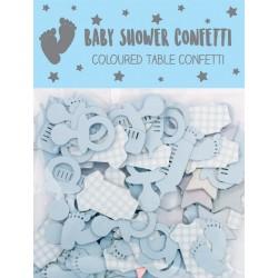 EWR CONFETTI BABY SHOWER ALBASTRE 24588-BB