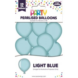 EWR SET BALOANE PERLATE 12/SET LIGHT BLUE 12930-LB-1