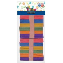DIA STICKS LEMN 11.4CM 100/SET 6 CULORI THE LITTLIES 646518