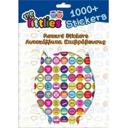 DIA STICKERE RECOMPENSA 1000/SET THE LITTLIES 646650
