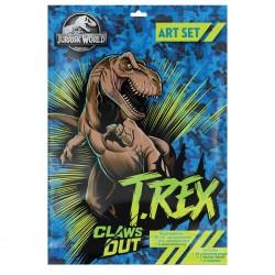 Dia Set Desen Jurassic World 31 Piese 570743