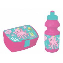 Dia Set Scoala Cutie Sandwich + Sticla Apa Must Octopus 579842