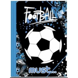 DIA MAPA CARTON A4 CU ELASTIC MUST FOOTBALL 579846