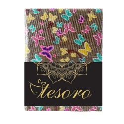 DIA NOTES 14*20CM 96F DR FABRIC TESORO 582217