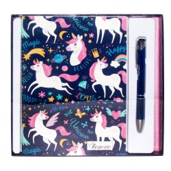 DIA SET NOTES CU PIX TESORO UNICORN 582250
