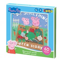 DIA PUZZLE MAGNETIC PEPPA PIG 60 PIESE LUNA 482667