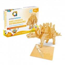 AM PUZZLE 3D DINOZAUR ROBOT ESTEGOSSAURO AMBARSCIENCE 600412