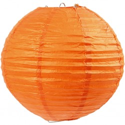 CC LAMPION, D: 20CM, ORANGE 50003