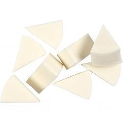 CC BURETE 8/SET, Sponges, L: 40 mm, W: 25 mm, 8 pc 104680